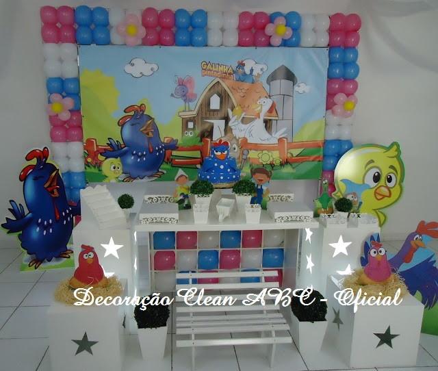decoracao festa galinha pintadinha rosa:decoracao-galinha-pintadinha-rosa-decoracao-de-festa Zoom