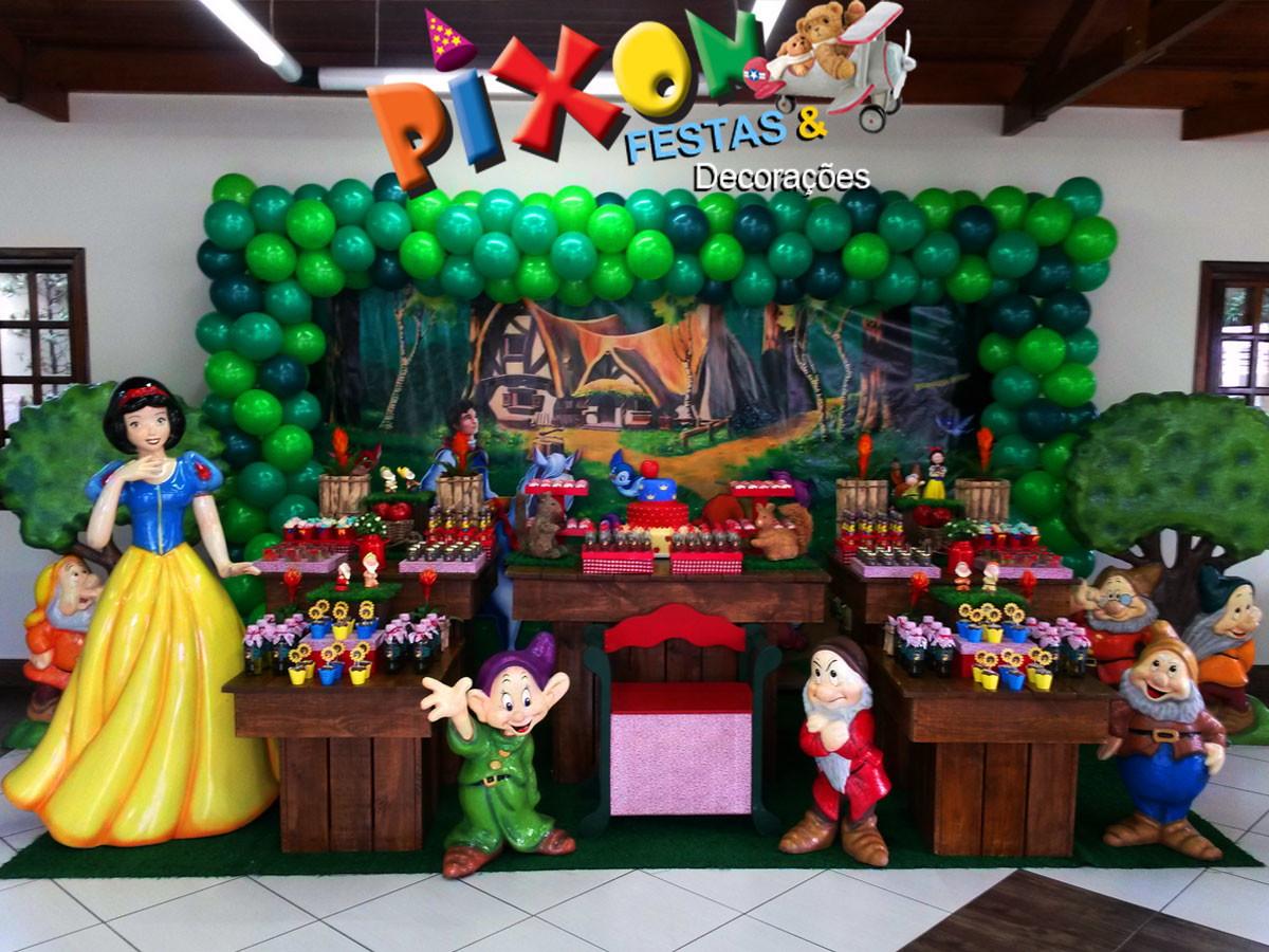 decoracao para festa infantil branca de neve: de Festa Infantil > Decoração Branca de Neve Festa Infantil