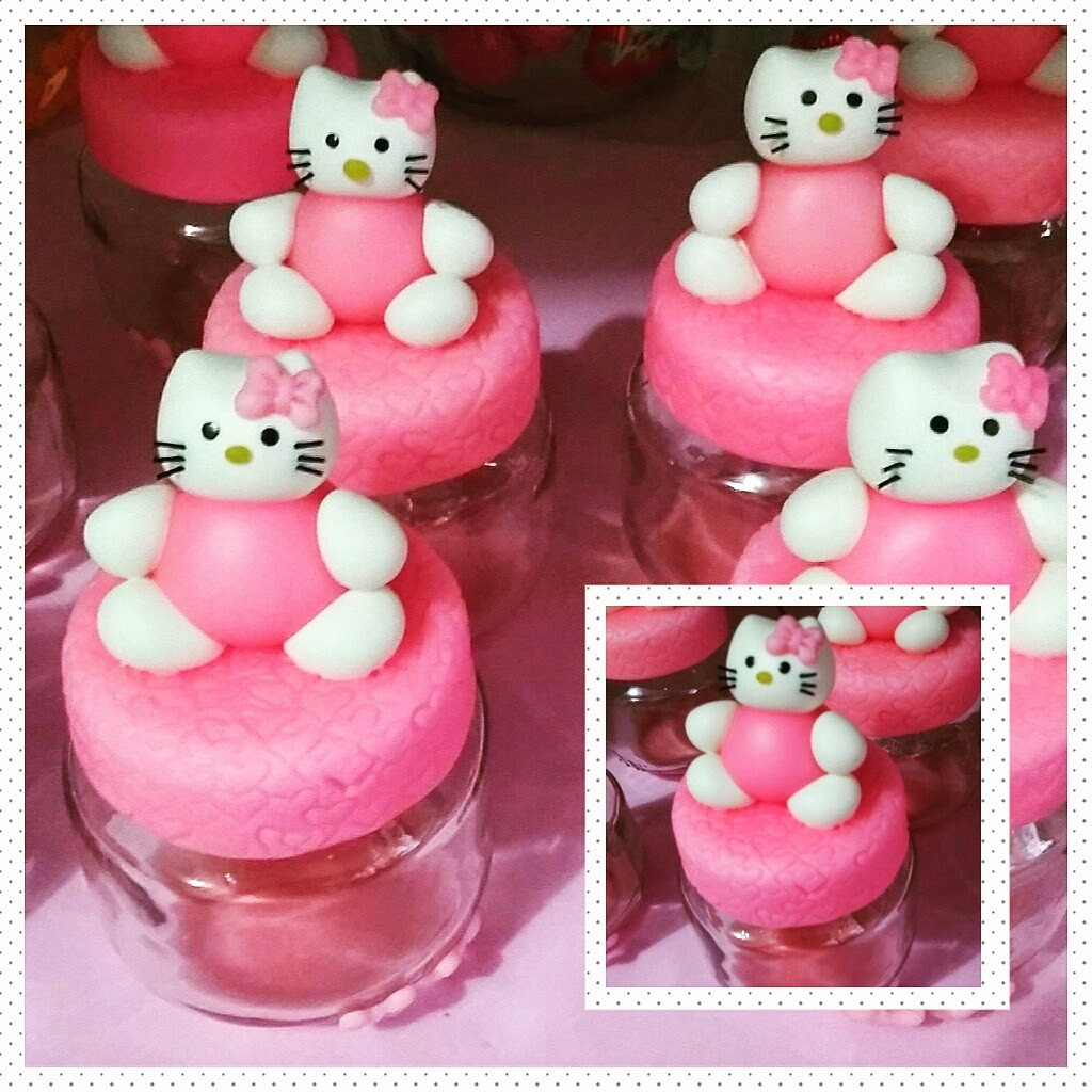 Potinho hello kitty no elo7 mimos em biscuit by laurinha - Hello kitty bebe ...