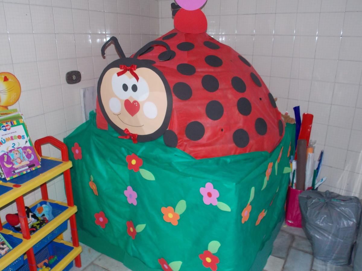 decoração sala de aula  DRIKA PADULA  Elo7 -> Decoracao Banheiro Educacao Infantil
