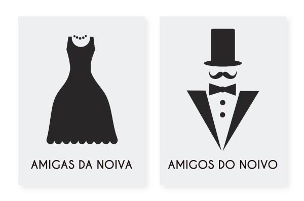 Kit c02 Placas pBanheiro Frete Grátis  Mimos & Maravilhas  Elo7 -> Placa De Banheiro Feminino Divertida