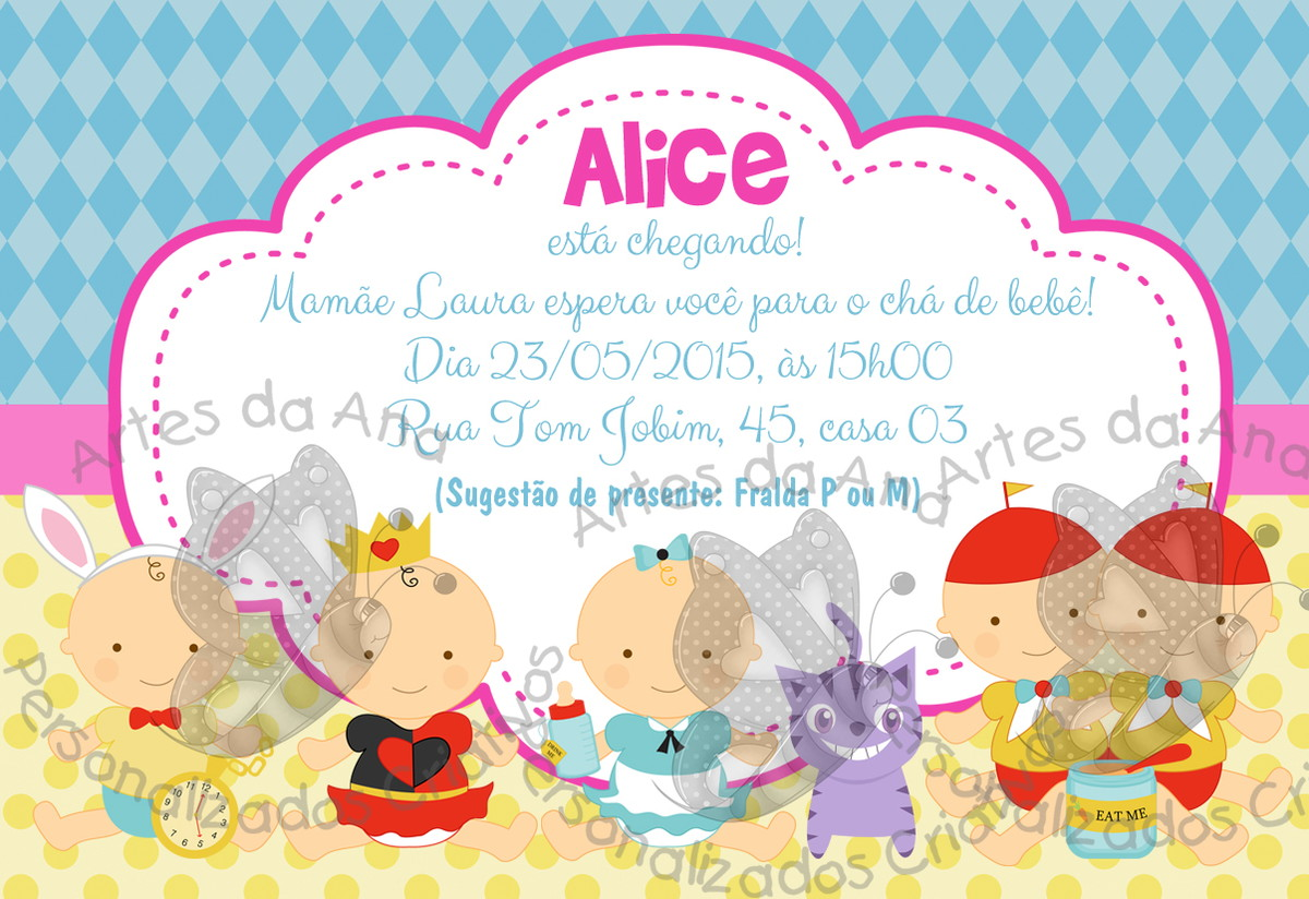 Printable Mad Hatter Tea Party Invitations | futureclim.info