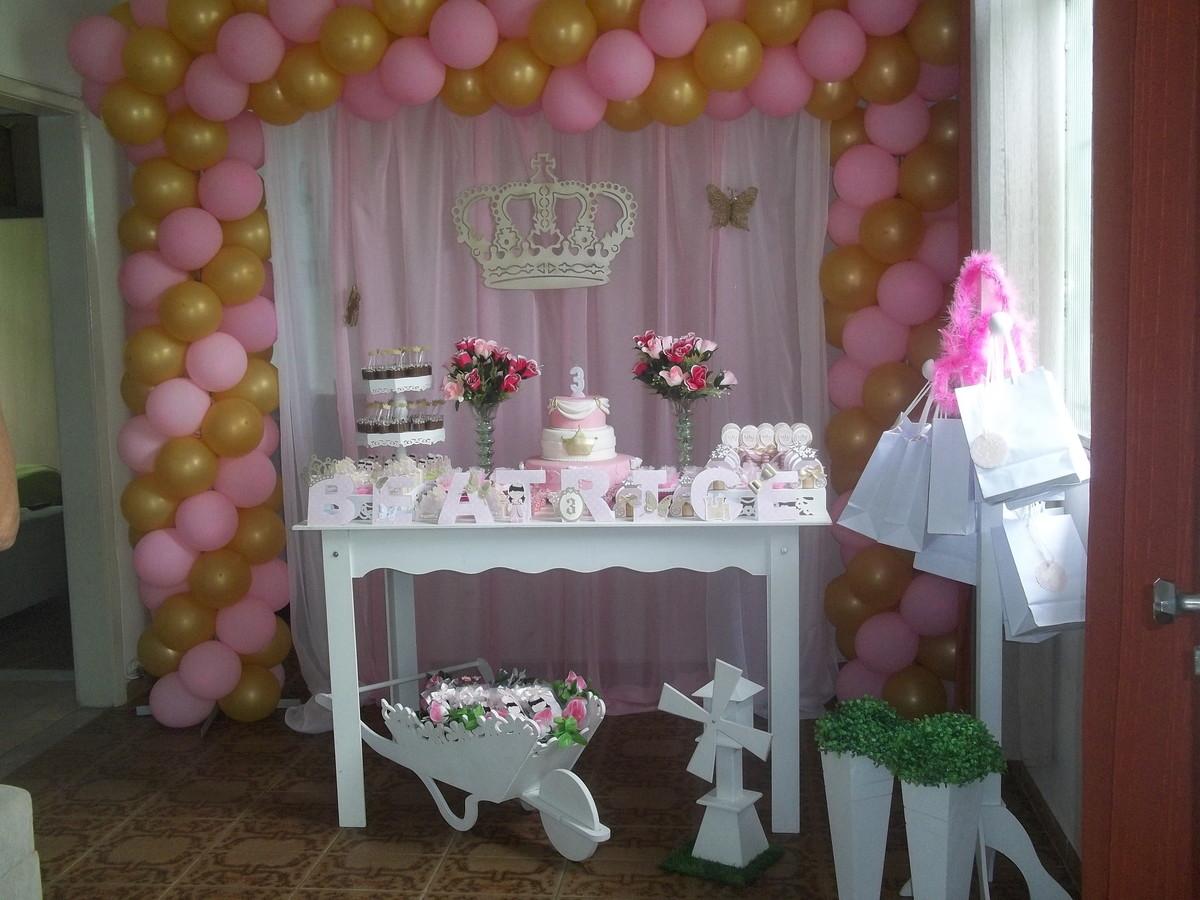 Festa de princesa no Elo7 Ale Decoraç u00e3o M (538FC5) # Decoração De Aniversario Princesa Realeza
