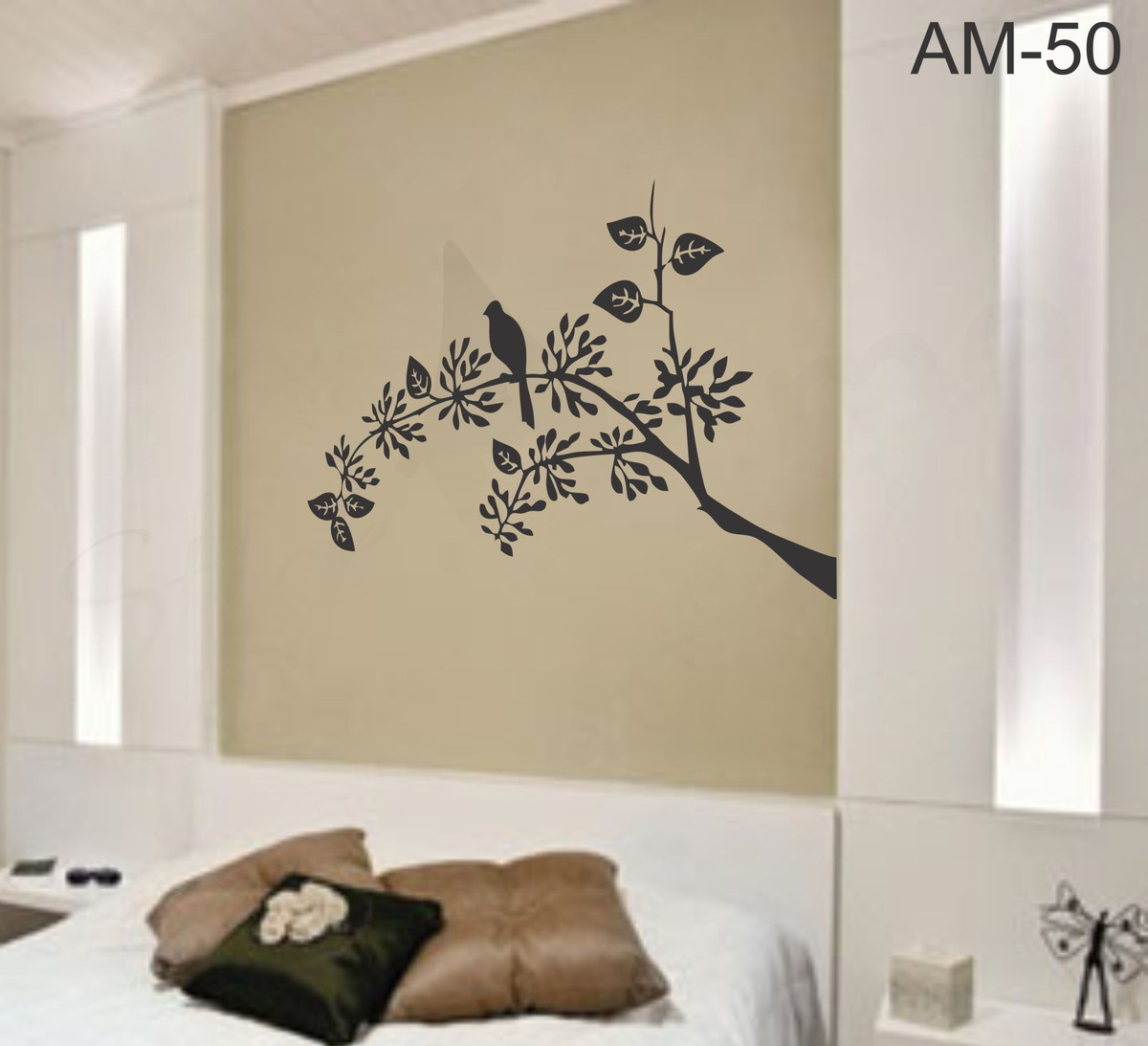 Adesivo decorativo de parede am50 stick home adesivos for Papel de pared decorativo
