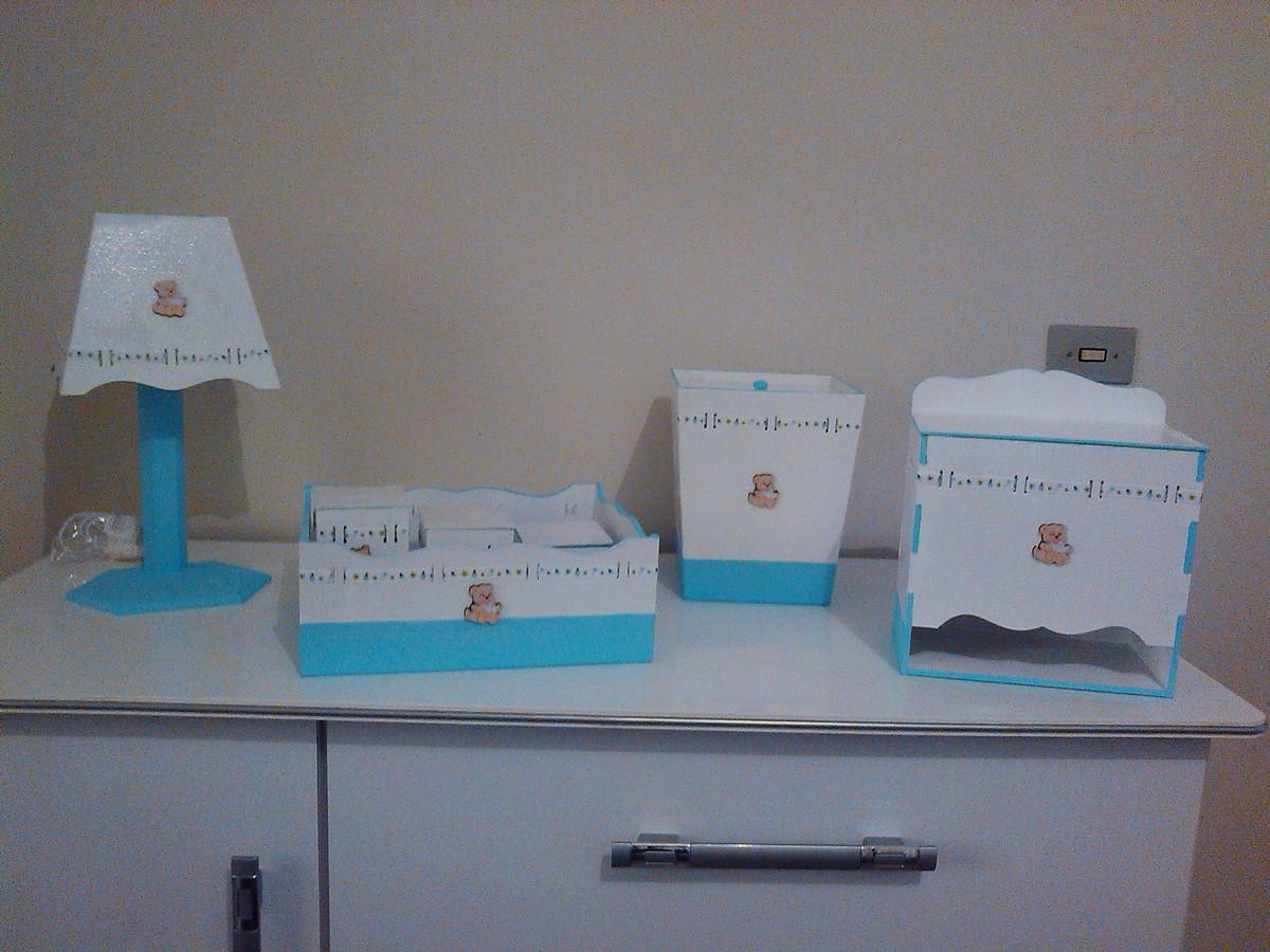 Aparador Antigo Laqueado ~ kit higiene C&C Artesanatos Elo7