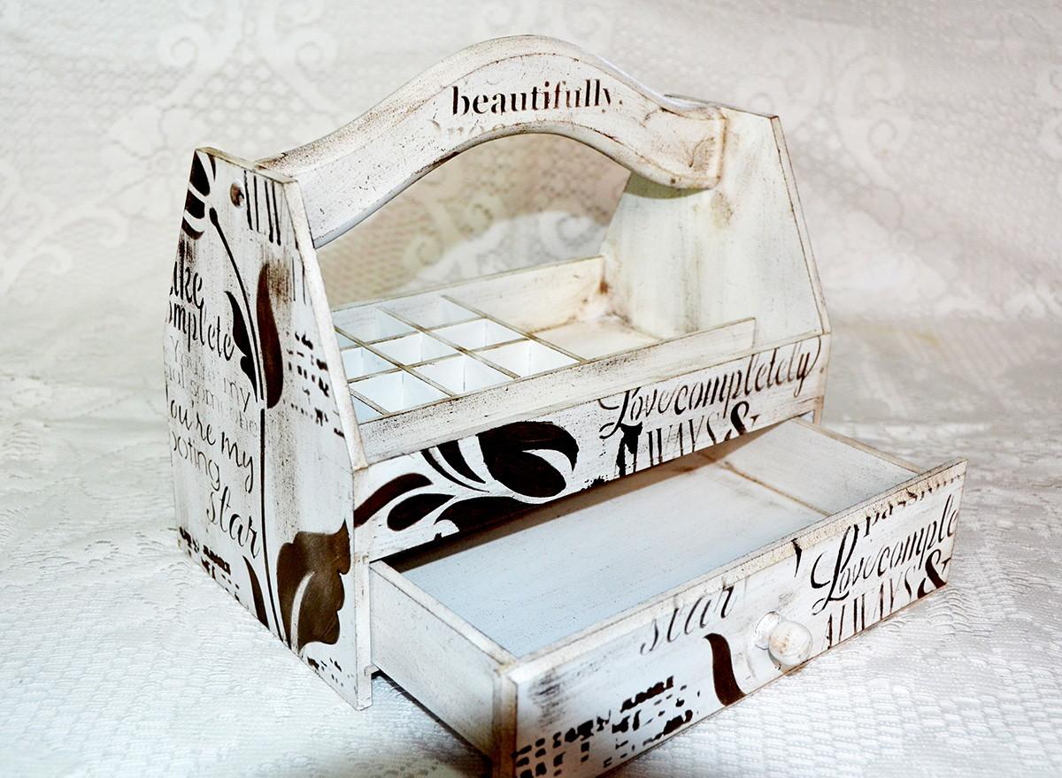 caixa de esmalte com gaveta organizador caixa de esmalte com gaveta  #23150F 1200x880