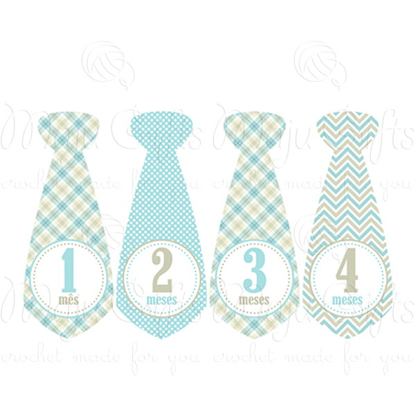 Adesivo De Emagrecimento Funciona ~ Kit Adesivo gravata Mesversário Blue Maju Gifts Elo7