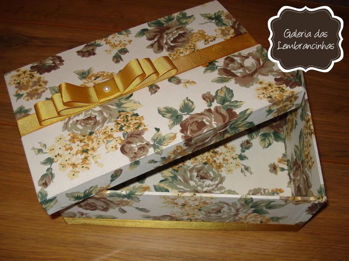 caixa mdf forrada em tecido dourada caixa de madeira forrada em tecido #6A411A 1200x900