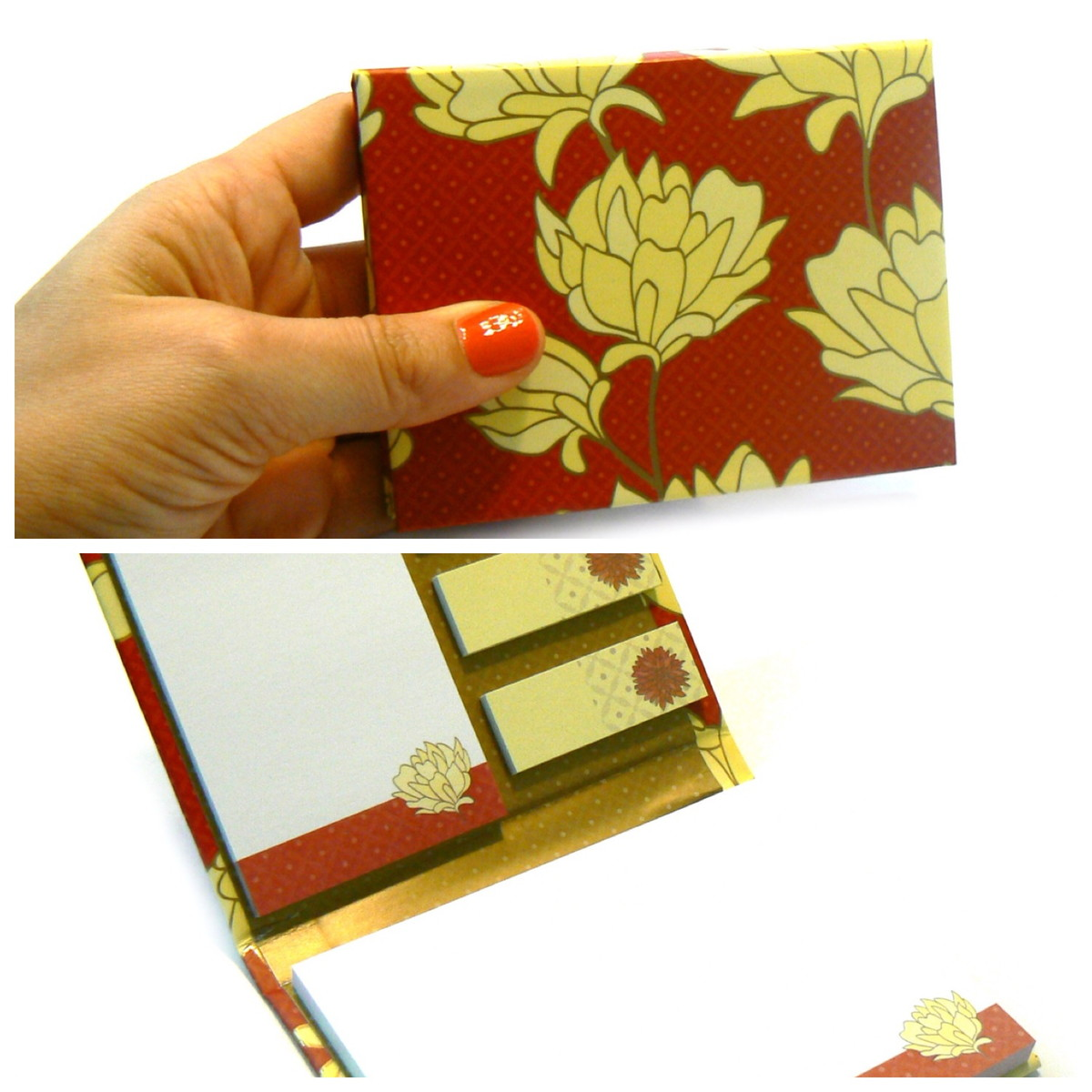 Armario Sinonimo De Arca ~ Bloco Belle Vermelho (kit De Mesa) Caderno e Cia Elo7