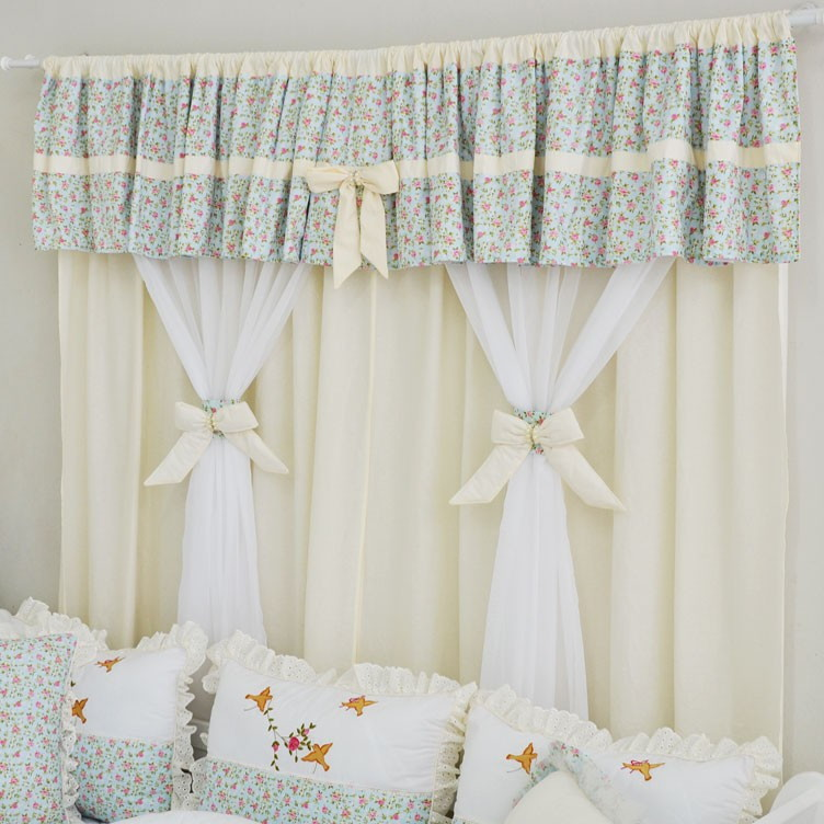 Cortina para quarto de bebe  Cute Home  Elo7