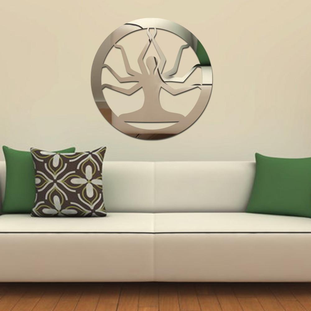 Artesanato Em Mdf Com Tecido ~ Espelho Shiva Acrilize Elo7