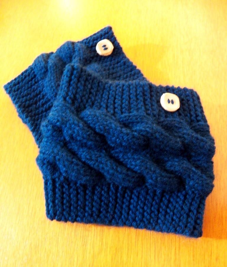 Boots cuffsmini polaina em tricot no elo7 tita carr 570d77 - Cote 2 2 tricot ...