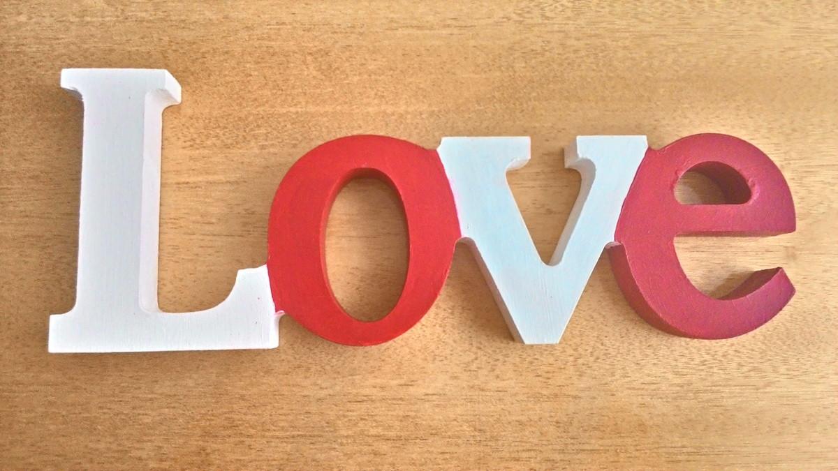 Artesanato Significado ~ Love em MDF Crisr Artesanato Elo7