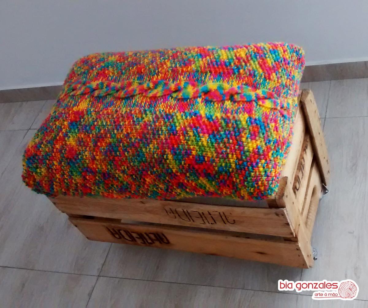 de caixote c almofada rust almofada banqueta de caixote c almofada  #A62925 1200x1004