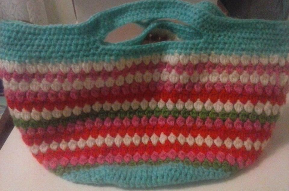 Bolsa De Mao Em Croche : Bolsa de m?o em croch? melon elo