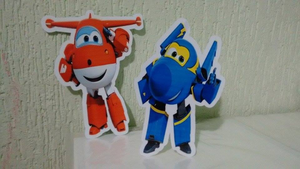 decoracao festa super wingsdisplay de mesa super wings superwings
