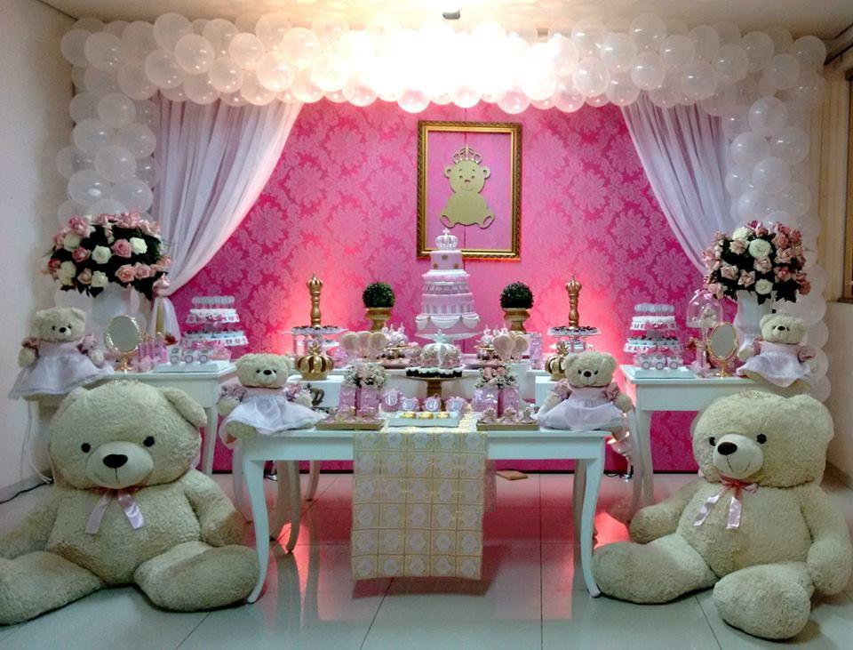 Decora??o Festa Ursa Princesa Allegra Festas ...