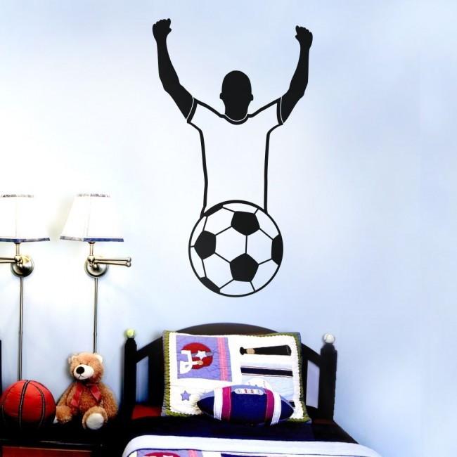 Adesivo Jogador De Futebol ~ Adesivo Jogador de Futebol BRINDE 1 Pinguim de Geladeira
