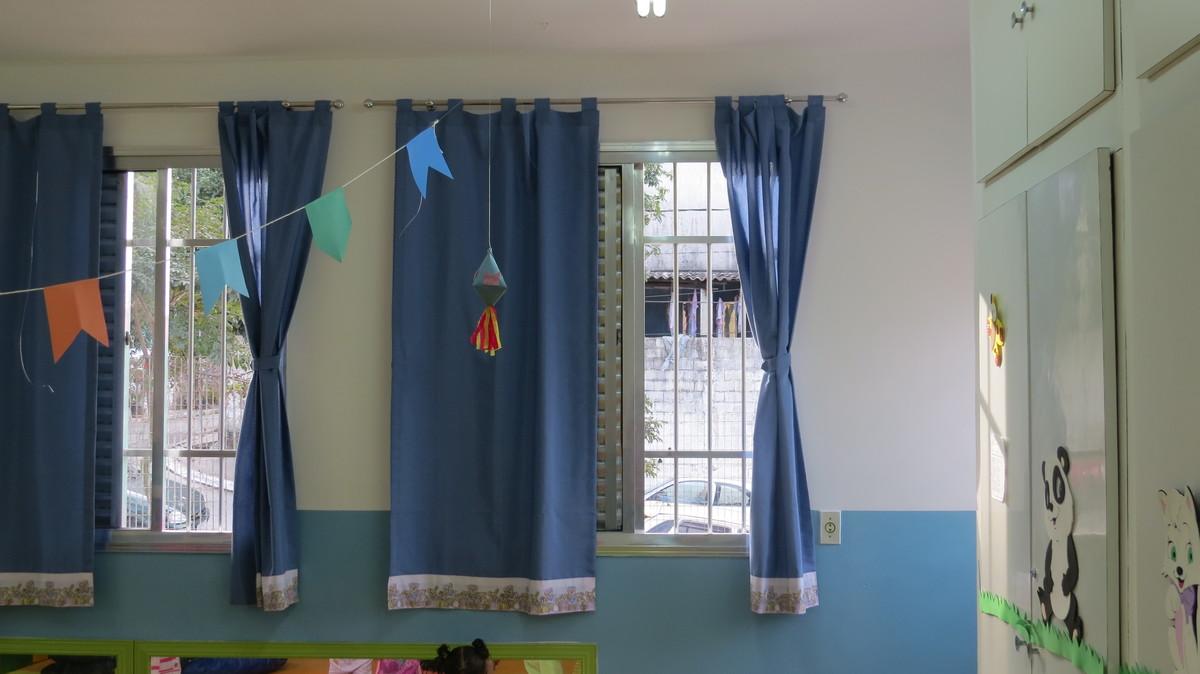 Cortina em al as para var o anl cortinas e afins elo7 for Cortinas para aulas