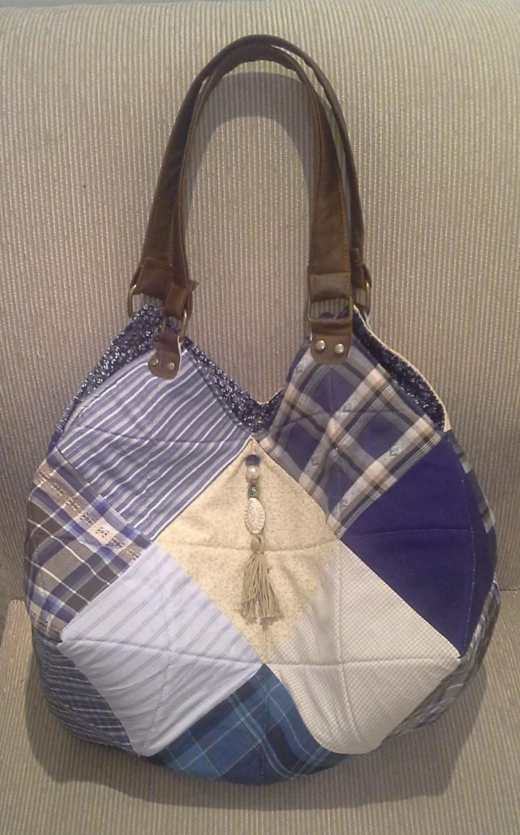Bolsa De Tecido Hippie : Bolsa quadrados krisarte artesanatos elo