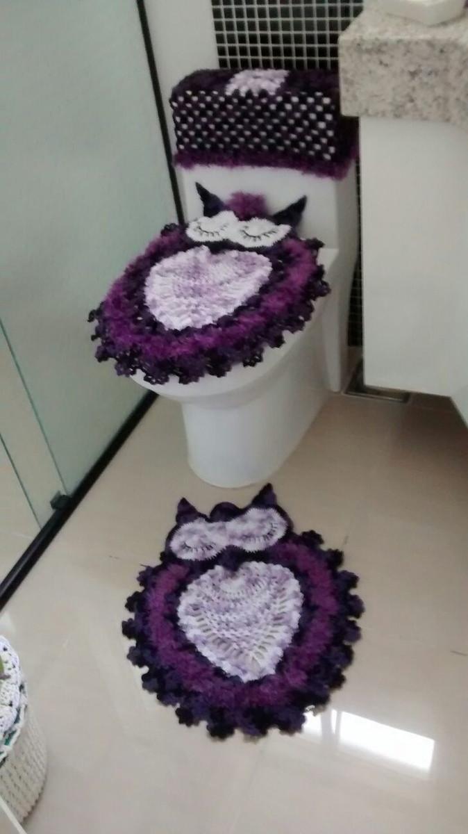 kit decoracao banheiro : kit decoracao banheiro:coruja kit banheiro croche kit banheiro de croche coruja kit banheiro