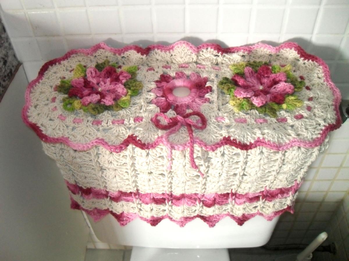 para caixa acoplada caixa para capa acoplada em croche capa para caixa  #AA2149 1200x900 Banheiro Acessível Com Caixa Acoplada