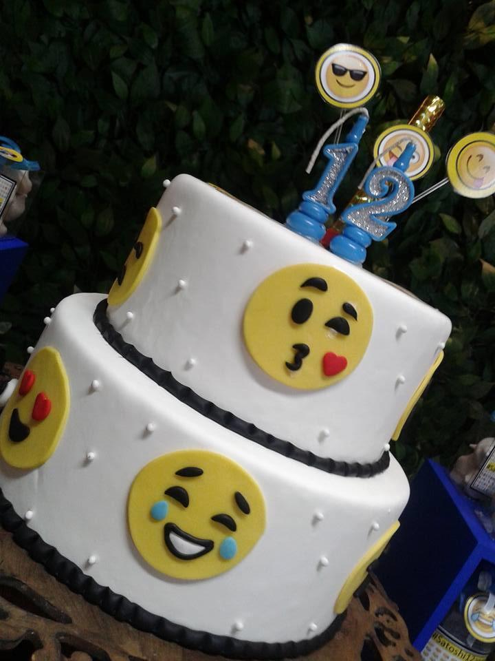 Decoraç u00e3o Festa Emotions Emoji Engenheiras da Festa Elo7 -> Decoração De Festa Tema Emoji