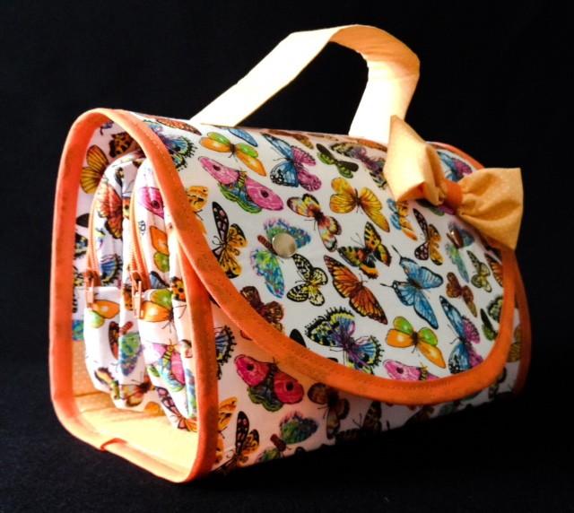 Necessaire dupla na bolsa borboleta lara atelier by - Amar atelier ...