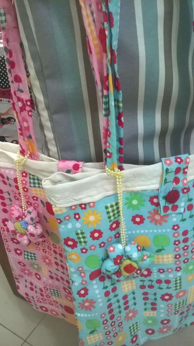 Bolsa De Praia Feita De Tecido : Bolsa de praia artes da deca feito c carinho p voc? elo