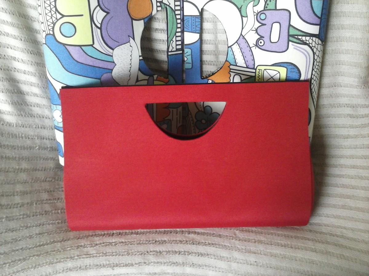 Bolsa De Mão Para Festa Vermelha : Bolsa de m?o fest vermelha lemon elo