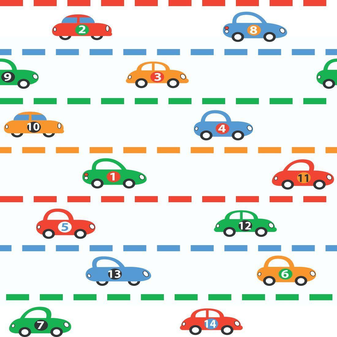 Papel de parede carros decor 65 crie decore elo7 for Papel vinilico infantil