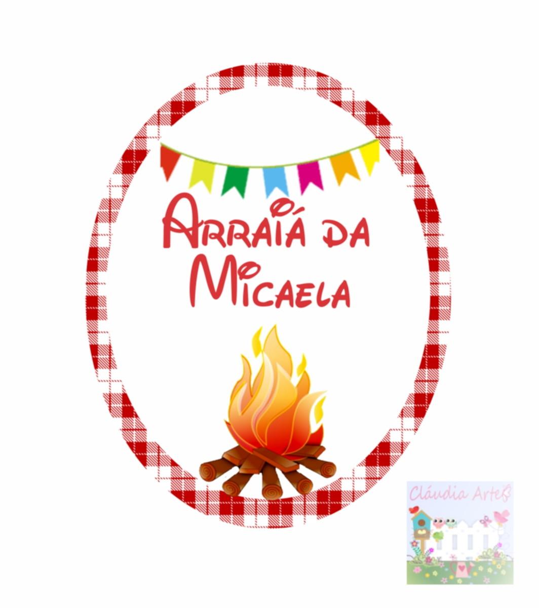 Adesivo tubete Festa Junina Cláudia Arte Elo7
