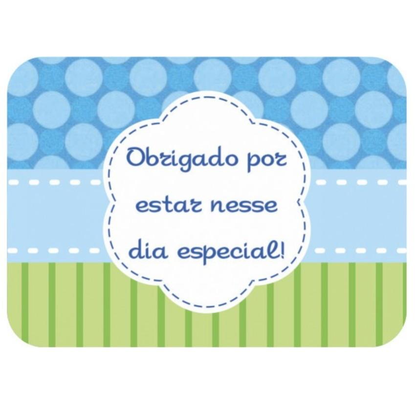 Armario Antiguo ~ Adesivo Mini Mamadeira Azul Chá Beb u00ea GrupoÁgata Elo7