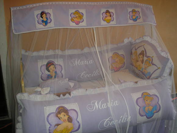 KIT DE BER�O PRINCESAS
