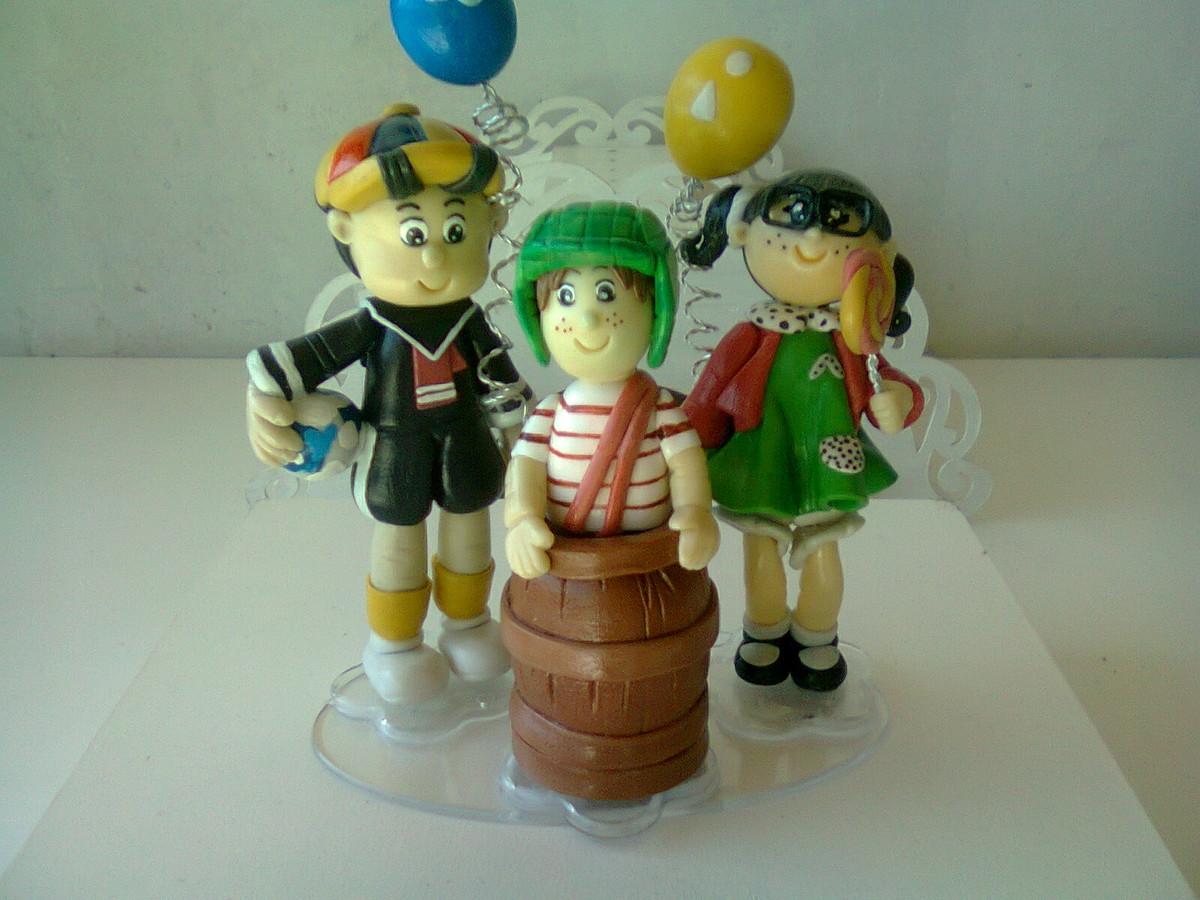 chaves kiko e chiquinha decoracao de bolo topo de bolo chaves kiko e