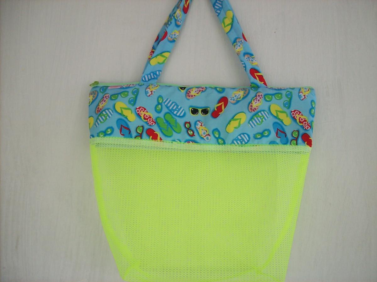 Bolsa Em Tecido Para Praia : Bolsa de praia dianne pedrosa elo
