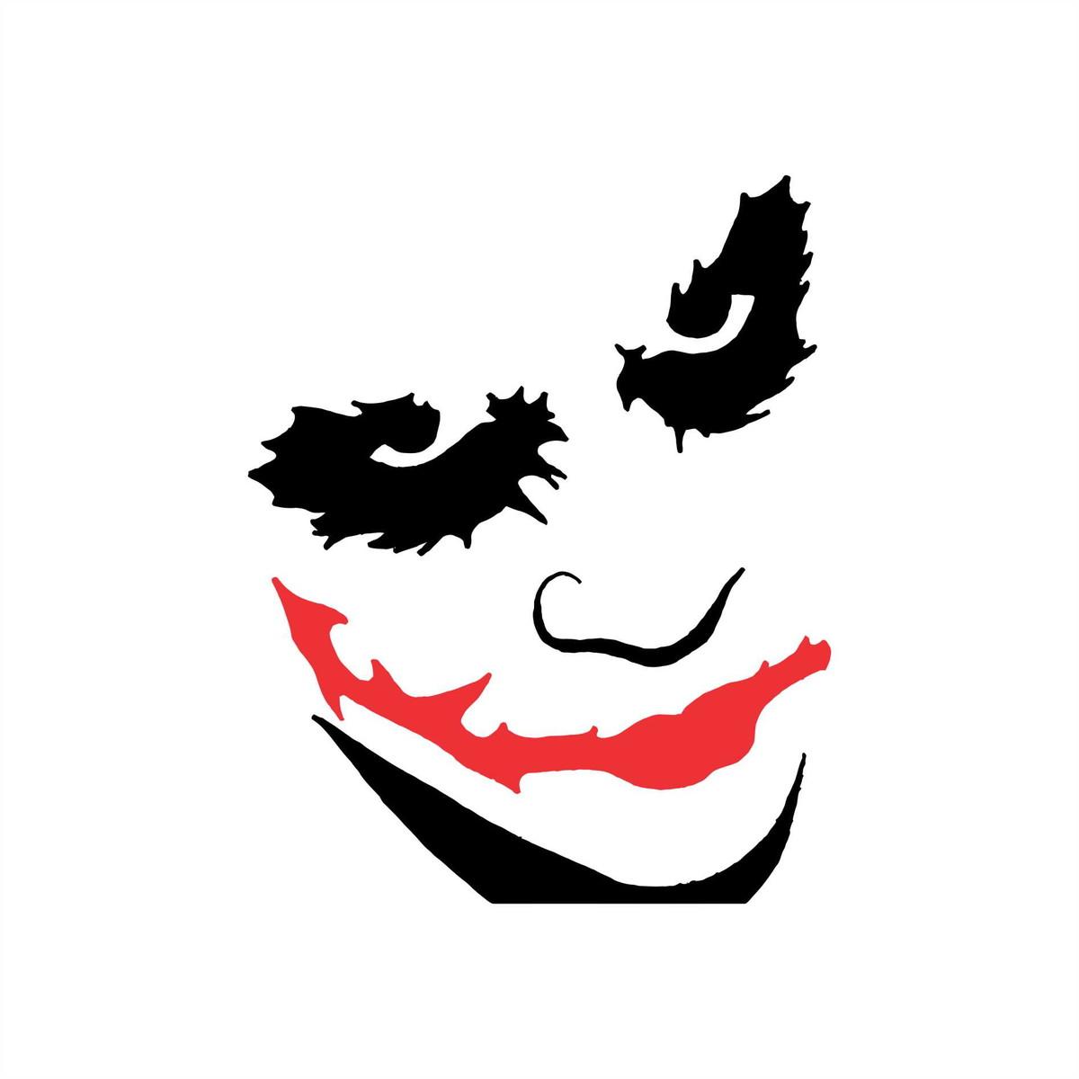 Adesivo Batman Coringa Joker 02 10x8cm No Elo7 Queen