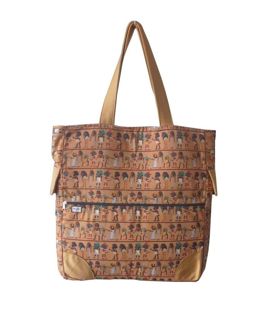 Bolsa De Ombro Para Viagem : Bolsa grande egito brigitte bags elo