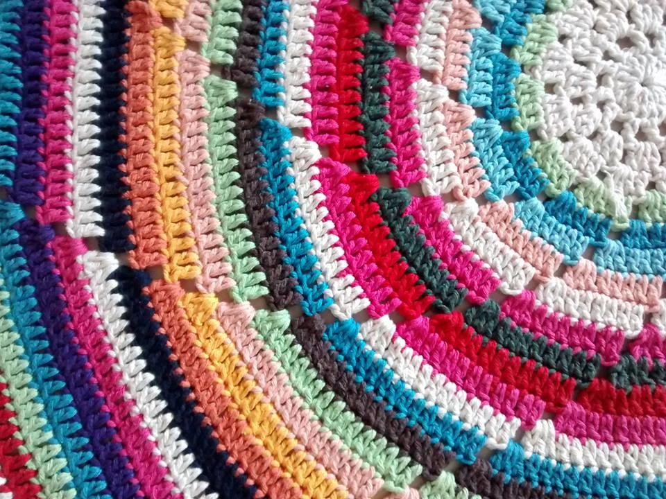 tapete mandala crochet crjcrochet elo7. Black Bedroom Furniture Sets. Home Design Ideas