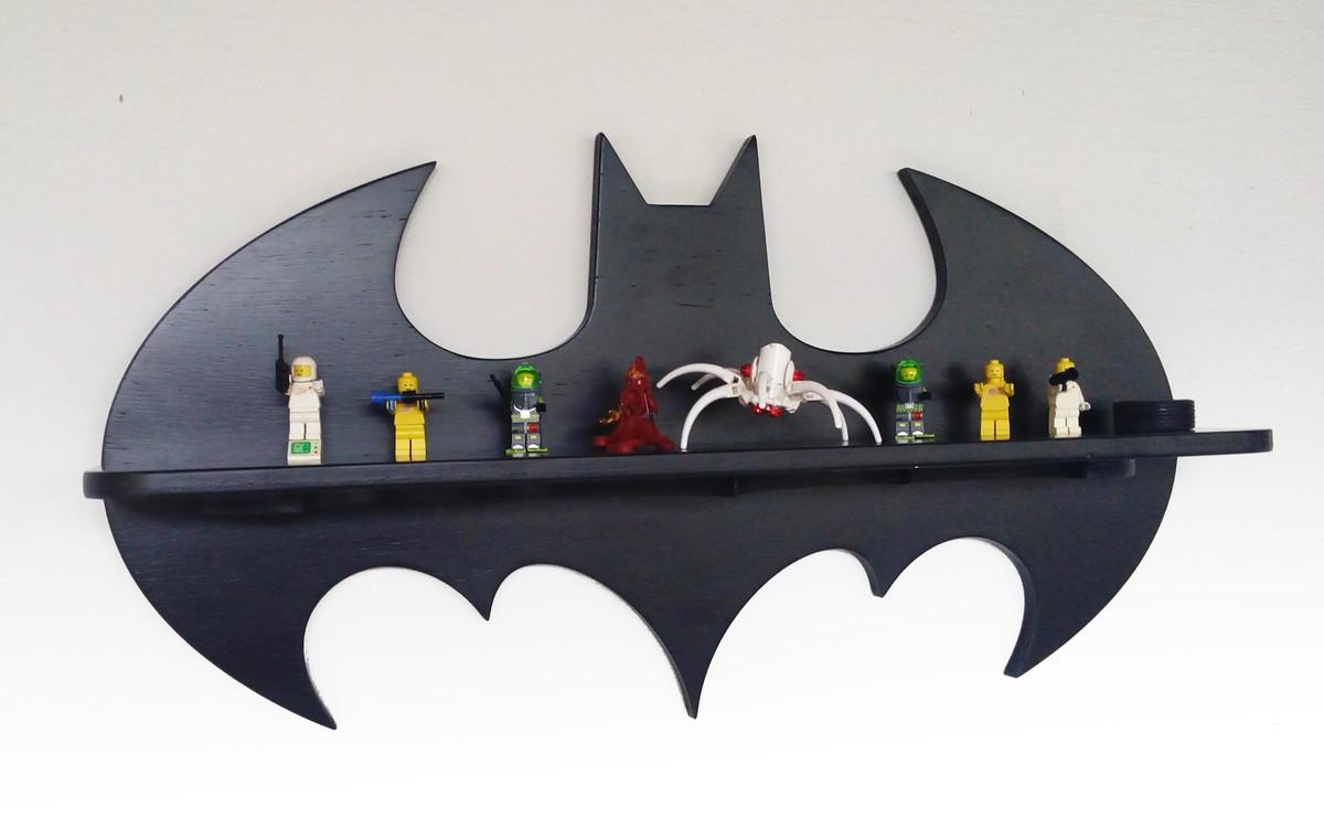 Prateleira do Batman 60cm FRETE GRÁTIS  Love Brasil  Elo7