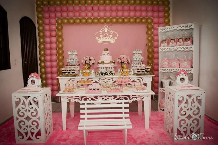 Festa Realeza no Elo7 Bellana Decoraç u00e3o (6518A3) -> Decoração De Aniversario Princesa Realeza