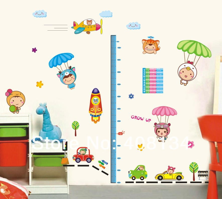 Decora o para quarto infantil no elo7 adesivos e for Papel de pared para pintar