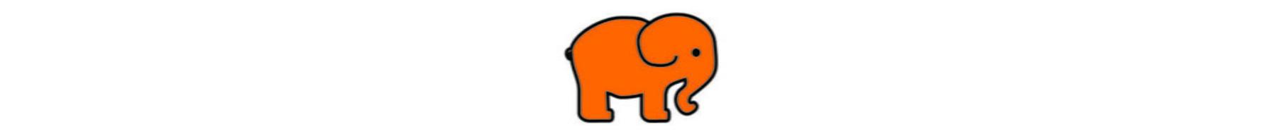 Elefante Laranja