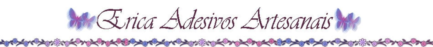 Erica Adesivos Artesanais para Unhas