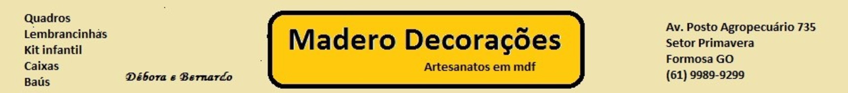 Madero Decoraes
