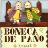 Boneca de Pano Atelie by Bete Alves