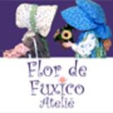 Flor de Fuxico Ateli�