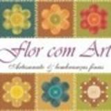 Flor com Art