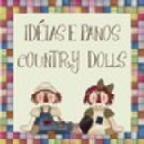 Ideias e Panos Country Dolls