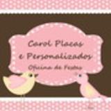 Carol Placas e Personalizados